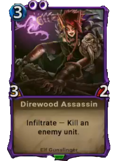 Direwood Assassin card
