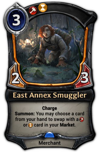 East Annex Smuggler card