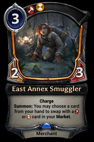 East Annex Smuggler card