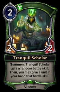 Tranquil Scholar