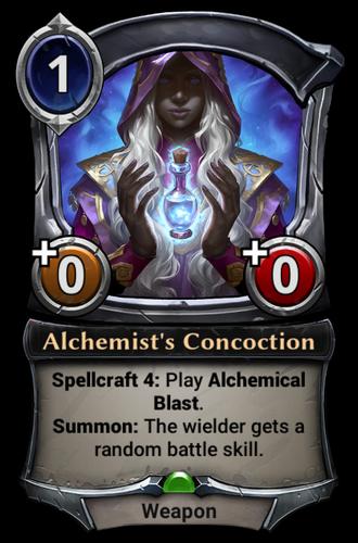 Alchemist's Concoction card