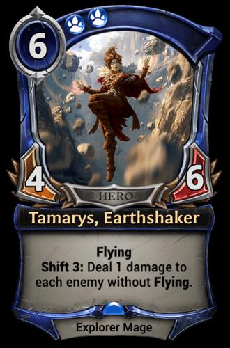 Tamarys, Earthshaker card