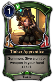 Patch 1.14 version of Tinker Apprentice.