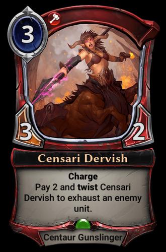 Censari Dervish card