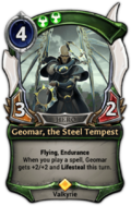 Geomar, the Steel Tempest