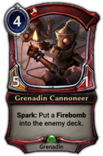 Grenadin Cannoneer