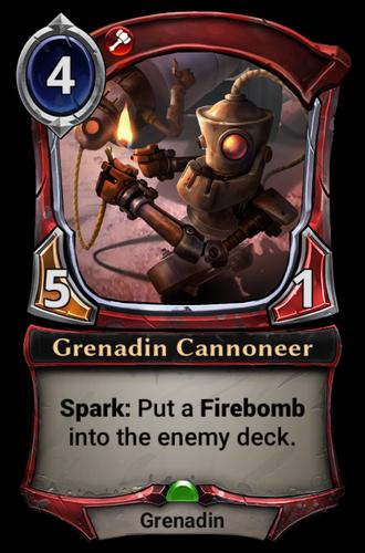 Grenadin Cannoneer card