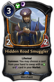 Hidden Road Smuggler