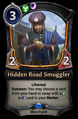 Hidden Road Smuggler card