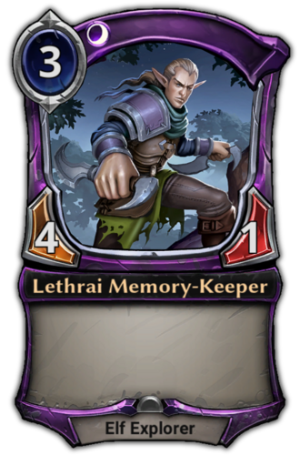 Lethrai Memory-Keeper card