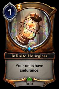 Infinite Hourglass