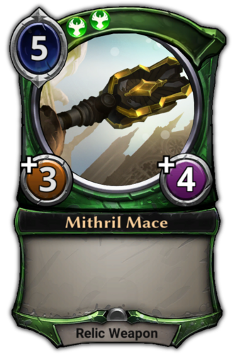 Mithril Mace card