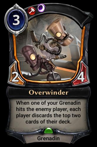 Overwinder card
