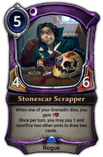 Stonescar Scrapper card