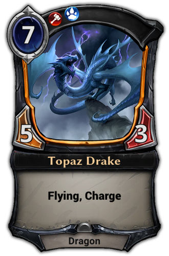 Topaz Drake card