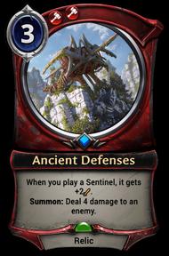 Ancient Defenses