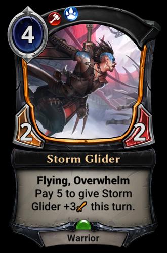 Storm Glider card