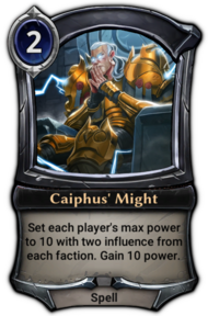 Caiphus' Might