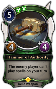 Hammer of Authority
