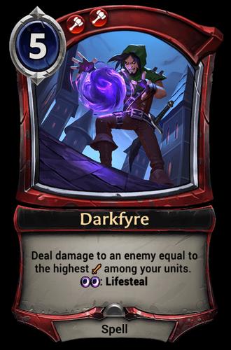 Darkfyre card