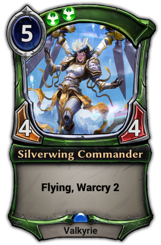 Silverwing Commander card
