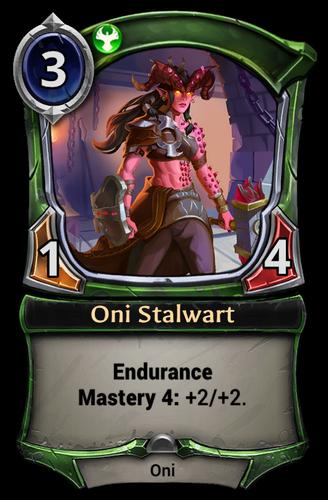 Oni Stalwart card