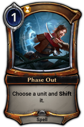 Phase Out card