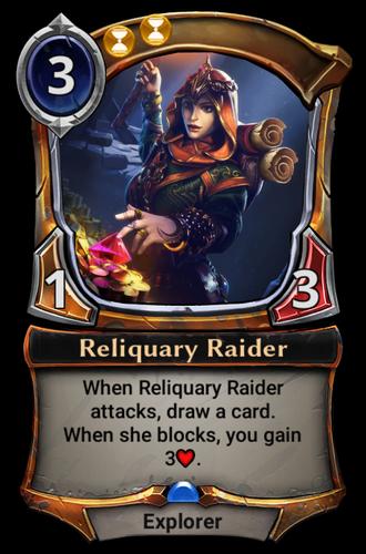 Reliquary Raider card