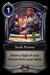 Seek Power