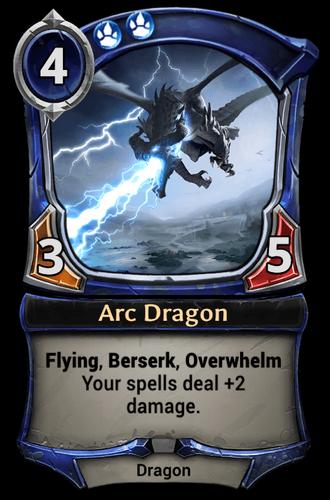 Arc Dragon card
