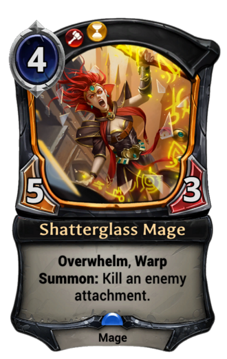 Shatterglass Mage card