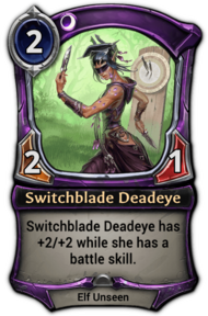 Switchblade Deadeye