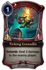 Ticking Grenadin