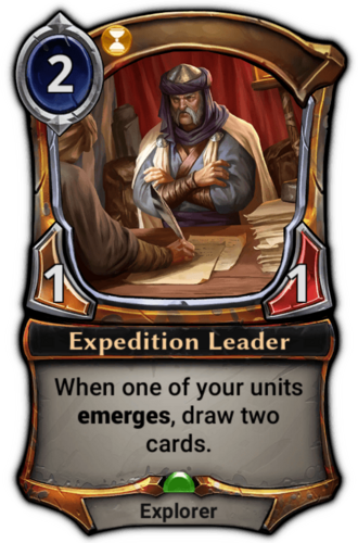 Expedition Leader card