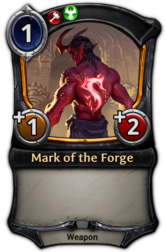 Mark of the Forge card