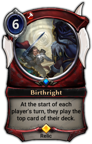Birthright card