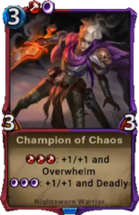 Champion of Chaos - Alpha