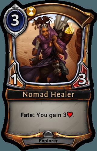 Nomad Healer card
