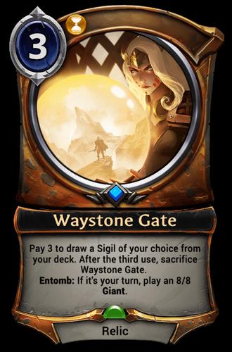 Waystone Gate card