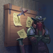 Full Art - Wanted Poster