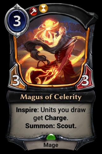 Magus of Celerity card