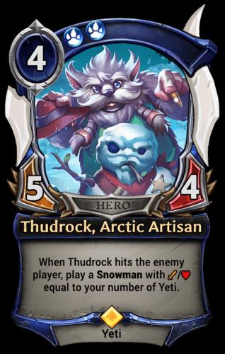 Thudrock, Arctic Artisan card