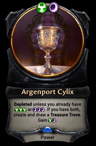 Argenport Cylix card