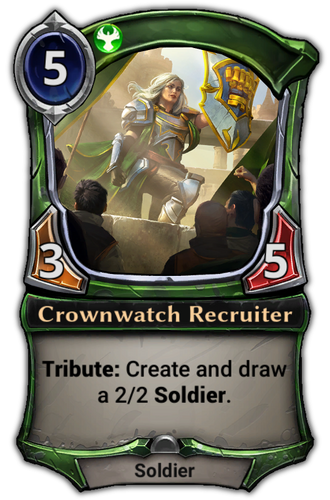 Crownwatch Recruiter card