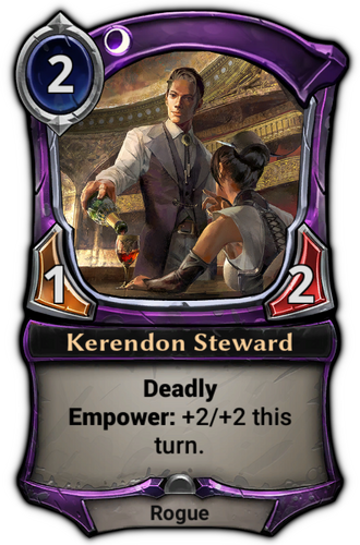 Kerendon Steward card