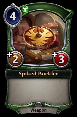 Spiked Buckler card