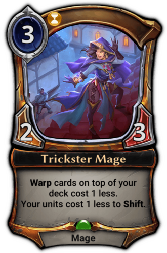 Trickster Mage card