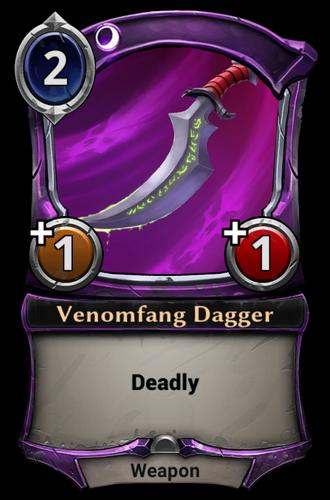 Venomfang Dagger card