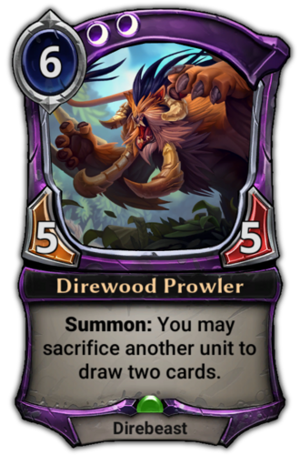 Direwood Prowler card