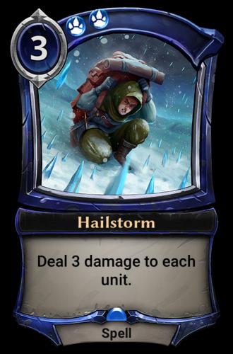 Hailstorm card